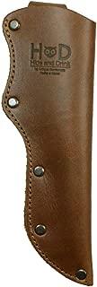Hide & Drink, Thick Leather Mora Knife Sheath w/Belt Loop Handmade Includes 101 Year Warranty :: Single Malt Mahogany