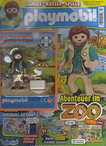 "Playmobil Blau 3/2020 \""Abenteuer im Zoo\"""