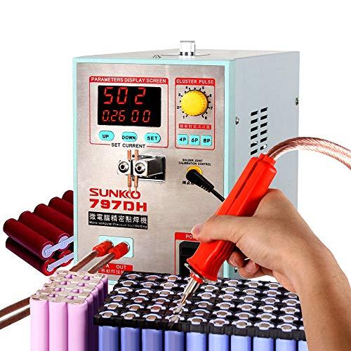 SUNKKO 797DH Pulse spot welder 3.8KW High Power Welding The maximum welding thickness is 0.3mm Includes spot welding pen