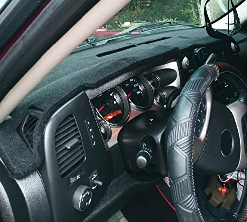 Dash Cover Custom Fit for Chevy Chevrolet Silverado 1500 LT/WT