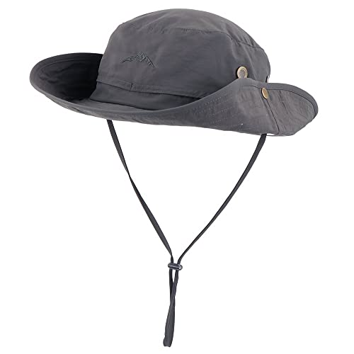 Anyoo Outdoor Boonie Hat Breathable Wide Brim Summer Sun Cap UV Protection  Fishing Camouflage Hat for de5b75f2707