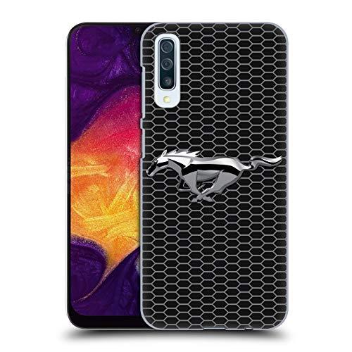 Head Case Designs Offizielle Ford Motor Company Grillen Mustang Logos Harte Rueckseiten Handyhülle Hülle Huelle kompatibel mit Samsung Galaxy A50/A30s (2019)