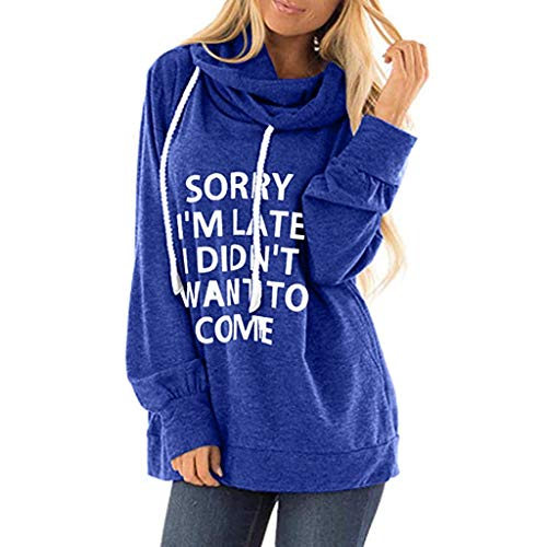 ZEELIY - Golf-T-Shirts für Damen in Blau, Größe XXL