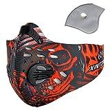 Máscara antipolución para bici