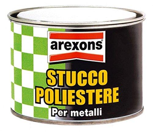 AREXONS STUCCO POLIESTERE PER METALLI GR. 800 - COD. 1027