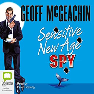 Sensitive New Age Spy audiobook cover art