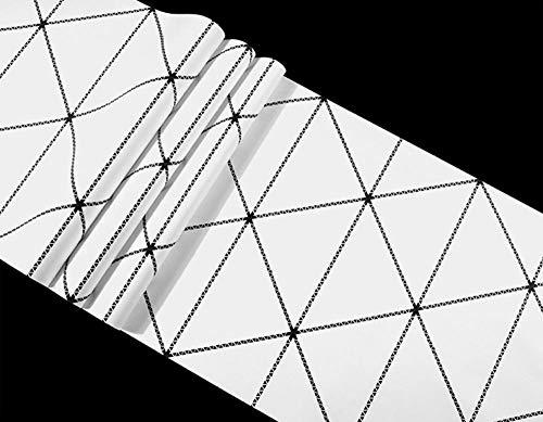 ACCEY Disegni geometrici semplici moderni Carta da parati...