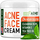 Acne Treatment Natural Cream - Made in USA - Acne...