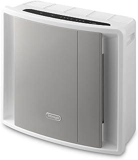 De'Longhi AC100 - Purificador de aire, 40 W, 130 m³/h, 44 dB, plástico, 3 velocidades, gris