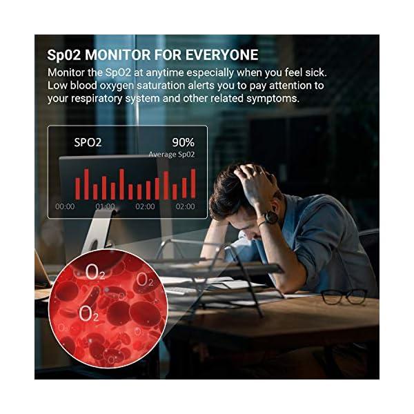 HONOR Smartwatch Magic Watch 2, 46mm Reloj Inteligente con Pulsómetro, hasta 14 días de Batería, 5ATM Waterproof… 4
