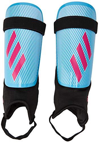 adidas Jungen X Club Schienbeinschoner für Fußball, Bright Cyan/Shock pink/Black, L