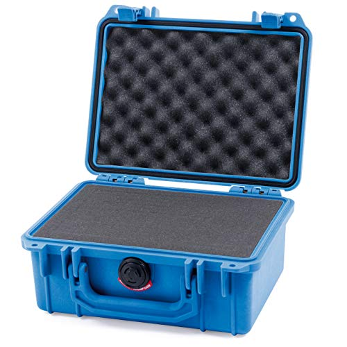 Pelican Blue Pelican 1150 case with Pluck Foam Set