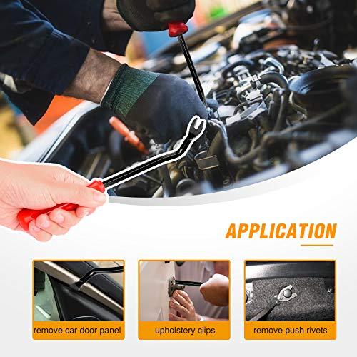 GOOACC 425 Pcs Car Body Retainer Assortment Clips Set Tailgate Handle Rod Clip
