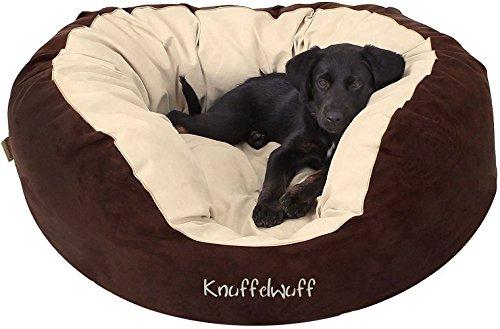 Knuffelwuff Hundebett Dooly Hundekorb Hundesofa Hundekissen Hundekörbchen waschbar L 80 x 75cm