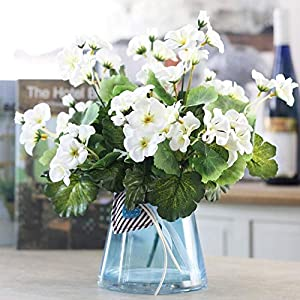 Artificial and Dried Flower 1PC Handmade Silk Artificial Flower Begonia Bouquet for Home el Party Decoration 3 Colours