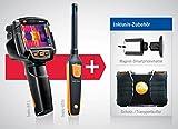 térmica de cámara Testo 871y Testo 605i–Higrómetro y térmica de Juego de cámara,...