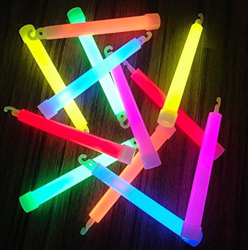 molinoRC   25x Power Knicklichter Bulk   150x15 mm FETT und HELL Leuchtstäbe   6 Farben Öse   Knicklichter Leuchtstäbe   Armreifen Glowstick   Partylichter Neon   📦   🇩🇪   ✅   😊  🥇