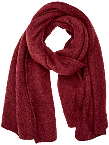 ONLY NOS Damen onlLIMA KNIT LONG SCARF ACC NOOS Schal, Rot (Chocolate Truffle), One Size