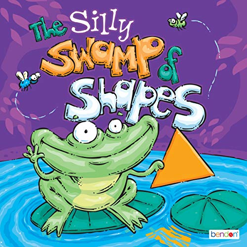 The Silly Swamp of Shapes audiobook cover art
