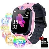 YENISEY Relojes para Niños - Música Smartwatch para Niños Niña Game Watch (Tarjeta SD de 1GB...