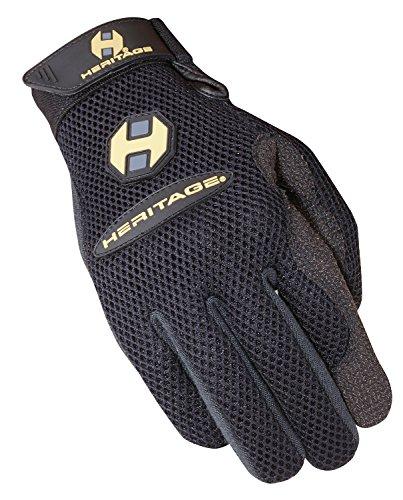 Heritage Air-Flow Roping Gloves, Size 11, Black