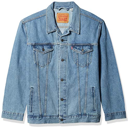 Levi's Men's Trucker Jacket, Light Stonewash, Small
