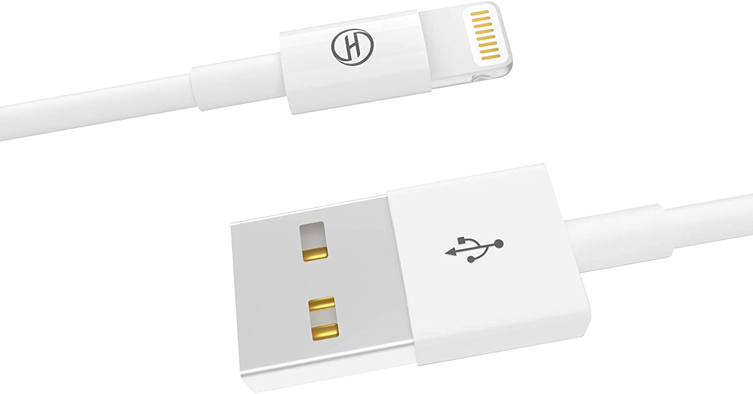 iPhone Charger [MFi Certified]iPad Charger Charging Cable Cord Line Heardear Lightning to USB Cable for iPhone 11 Pro Max/XS Max/XR/X/8/7/6s/6/Plus/5 SE/5s iPad Pro/Air/Mini (2M6.56ft-1PACK)