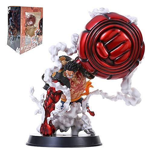 rgbh 25cm One-Piece Figura Monkey D Luffy Gear 4 PVC Action Figure Anime Modello Collezione Statua Giocattoli