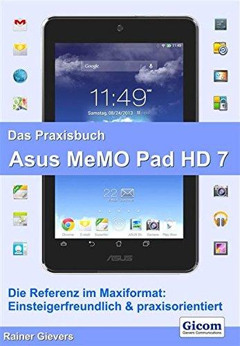 Das Praxisbuch Asus MeMO Pad HD 7