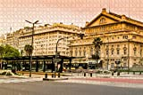Argentina Teatro Colon Buenos Aires Puzzle para Adultos 500 Piezas Rompecabezas de Madera para adultos