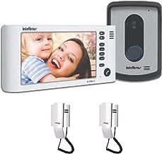Vídeo Porteiro Intelbras Iv 7010 Lcd Com 2 Extensão Audio