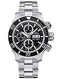 DELMA – Orologio da uomo con cronografo, analogico, automatico, cinturino in metallo