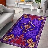 oHome Design Aladin Magic Area Rugs - Alfombra para sala de estar