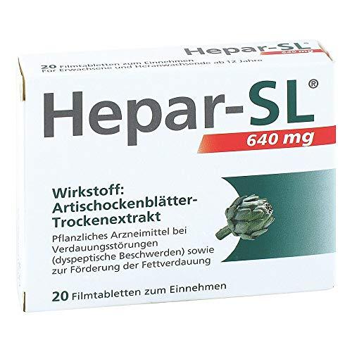 HEPAR-SL 640 mg Filmtabletten 20 St