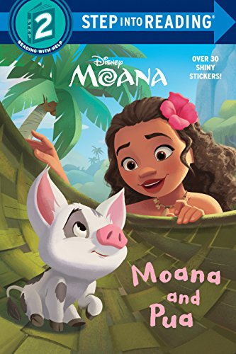 Moana and Pua (Disney Moana) (Step into Reading)