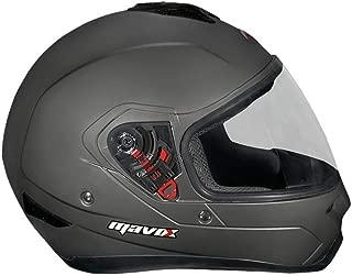 MAVOX OX11 Open Face Helmet (Cherry Red, 560 mm)