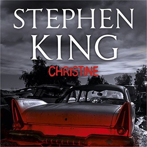 Christine audiobook cover art