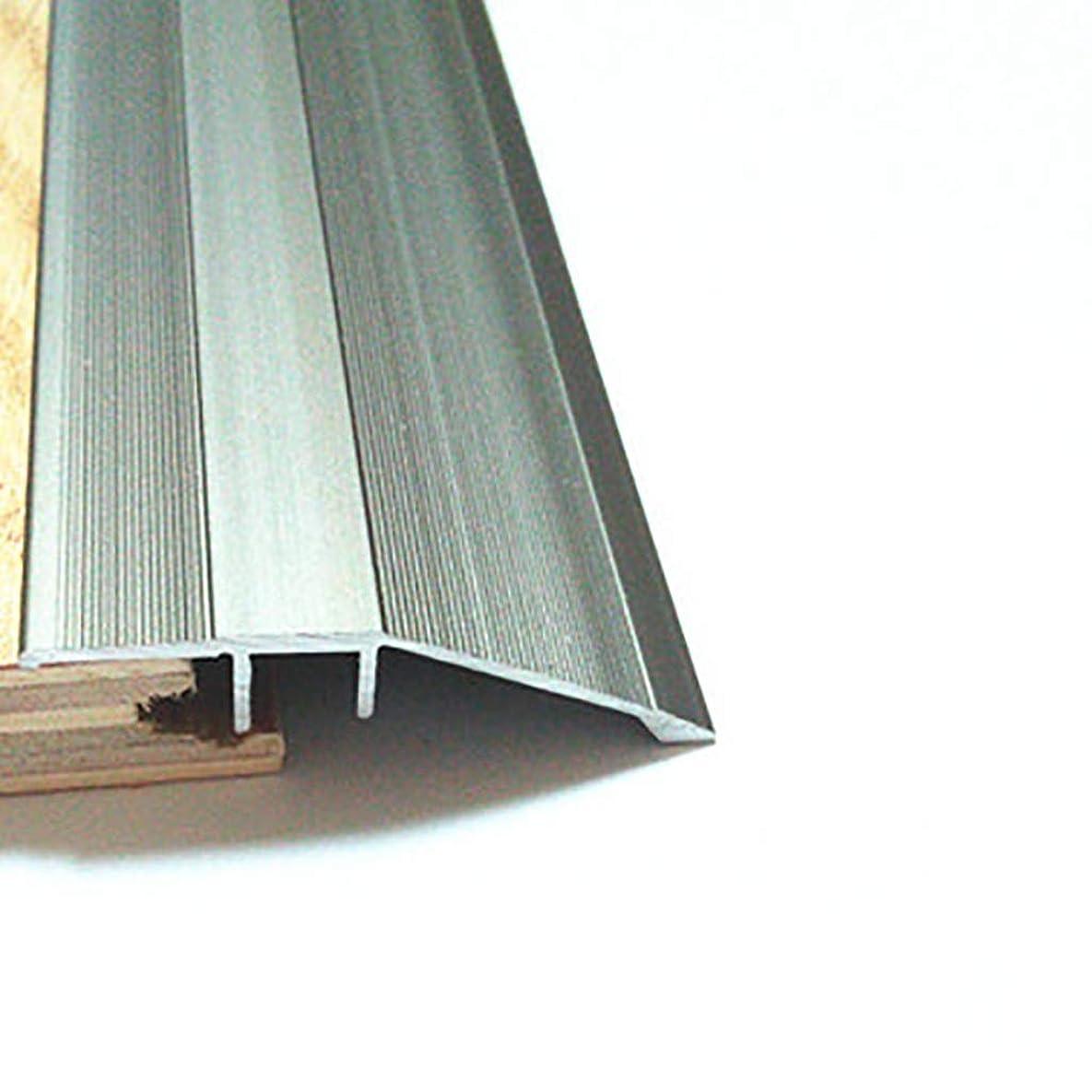 予防接種するアクティビティキリストしきい値ストリップ しきい値アルミニウム合金高低バックル斜辺セラミックタイル木製の床ドアストリップブランキングストリップ (色 : A)