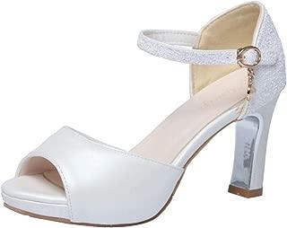 RAZAMAZA Women Fashion High Heels Sandals Ankle Strap