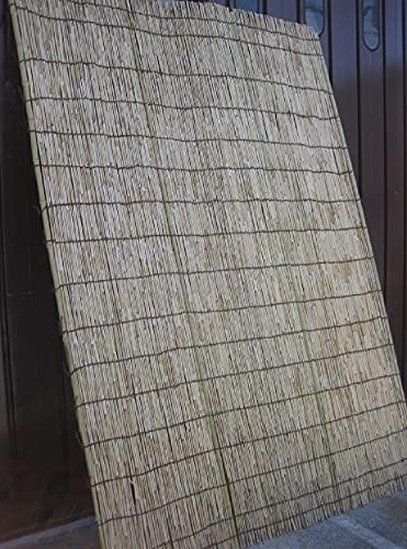 高級特選天然よしず(棕櫚縄編み)9尺 約幅180×高さ270cm 日除け たてす