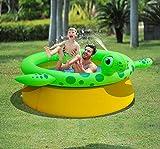 PlayFunWater Aufblasbarer Schildkröten Sprüh Pool Kinder/Baby - Pool/Planschbecken
