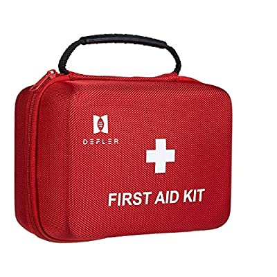 First aid kit, 230pcs First Aid Kit for Emergency and Survival Situations. Ideal for The Car, Camping, Hiking, Travel, Office, Sports, Pets, Hunting, Home by FIRSTAR HEALTHCARE COMPANY LIMITED (GUANGZHOU)