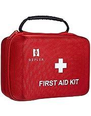 TENQUAN EHBO-kit voor noodsituaties en overlevingssituaties, ideaal voor thuis auto camping wandelen reizen kantoor sport huisdieren