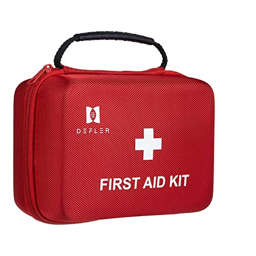 TENQUAN First aid kit, 230pcs First Aid Kit All for Emergencies and Survival Situations, Ideal for Home Car Camping Hiking Travel Office Sports Pets…