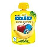 Nestlé Mio Purea di Frutta, Banana e Mela, 90g
