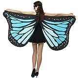 Longra Damen Schmetterling Flügel Faschingkostüme Party Festtagsmode Butterfly Wings Flügel...