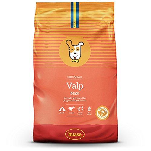 Husse - Valp Maxi 15 Kg | Pienso para Perros | Sabor Pollo y Salmón Ingredientes