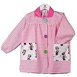 KLOTTZ MINNIE - Babi guardería bolsillos de tela Minnie Niñas color: ROSA...