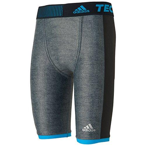 adidas Techfit Chill Short Tights Pantaloncini, Grigio (Grey S27030), (Taglia Unica: 46) Uomo