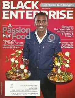 Black Enterprise Magazine November 2011 Master Chef Marcus Samuelsson